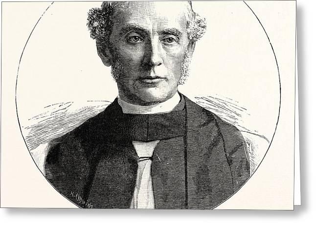 The Right Rev. William Dalrymple Maclagan D Greeting Card by English School
