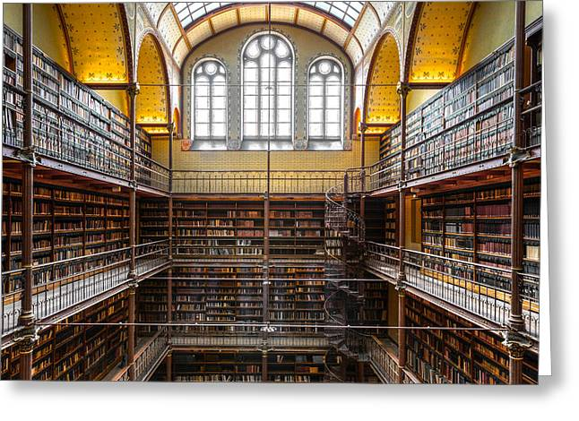 The Rijksmuseum Library Greeting Card