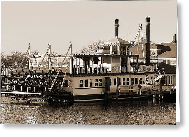 The River Lady Toms River New Jersey Greeting Card