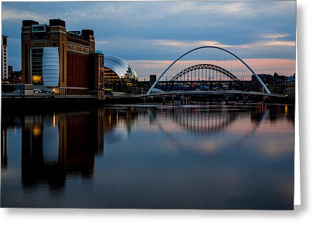 The River Tyne Greeting Card
