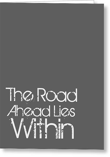 The Road Ahead Greeting Card by Brandon Addis