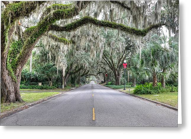 The Road To Take Greeting Card by Carl Clay