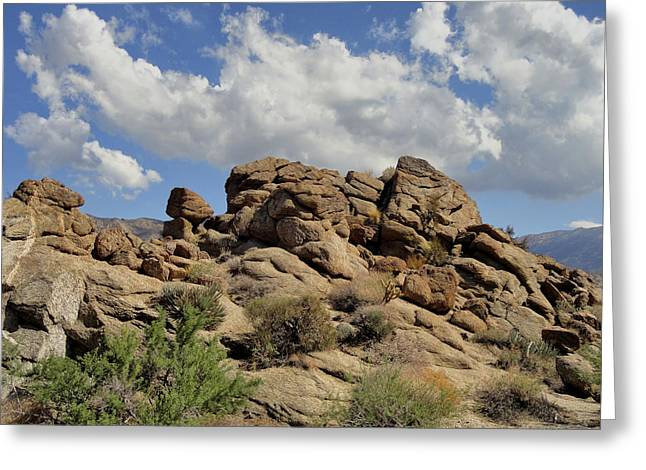 The Rock Garden Greeting Card by Michael Pickett