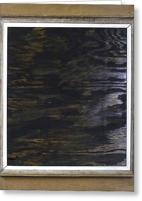 Greeting Card featuring the painting The Rock River by Kurt Olson