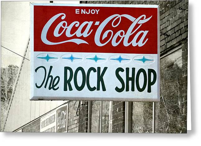The Rock Shop Greeting Card