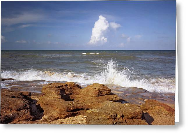 The Rocks V. Flagler County. Greeting Card