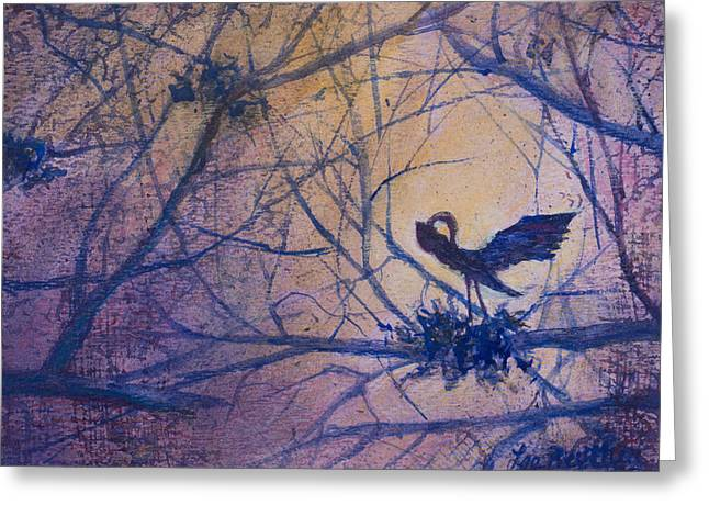 The Rookery Revisited Greeting Card