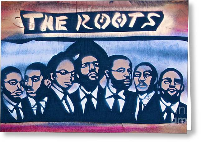 The Roots Greeting Card by Tony B Conscious