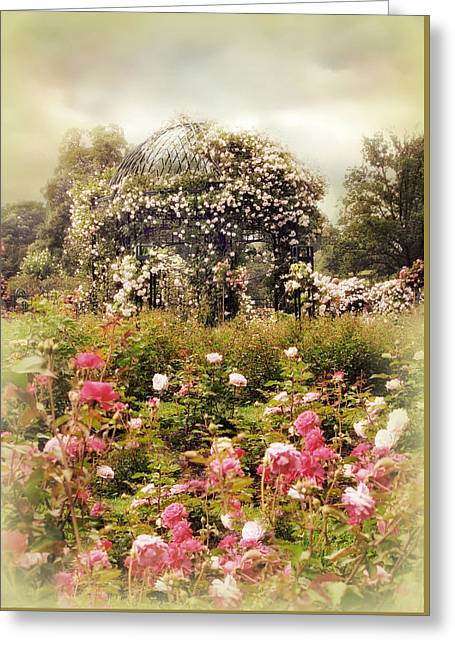 The Rose Gazebo Greeting Card