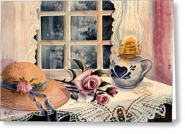 The Rose Greeting Card by Marilyn Smith