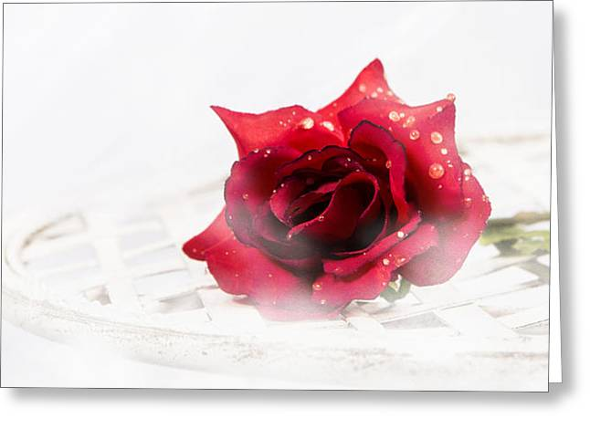 The Rose Greeting Card by Ronel Broderick