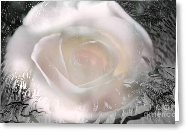 The Rose The Symbol Of Love Greeting Card