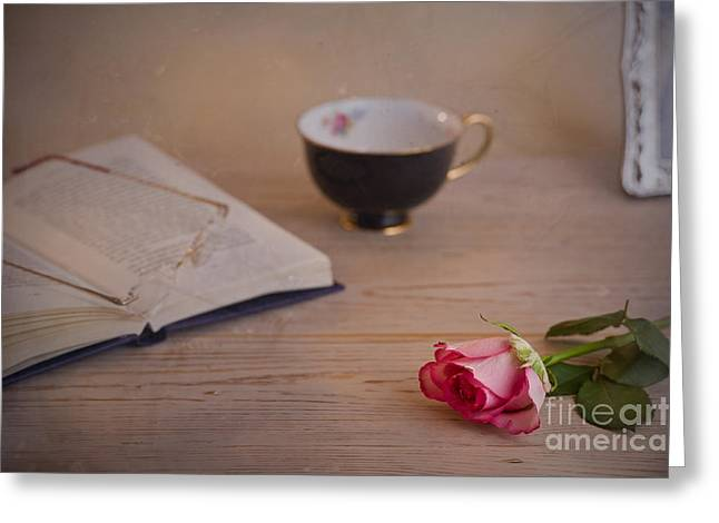 Greeting Card featuring the photograph The Rose by Trevor Chriss