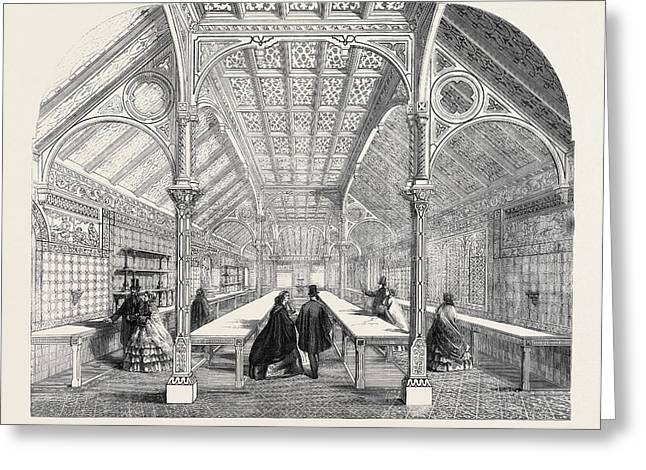 The Royal Dairy At Frogmore Near Windsor Greeting Card by English School