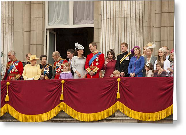 The Royal Family  Greeting Card