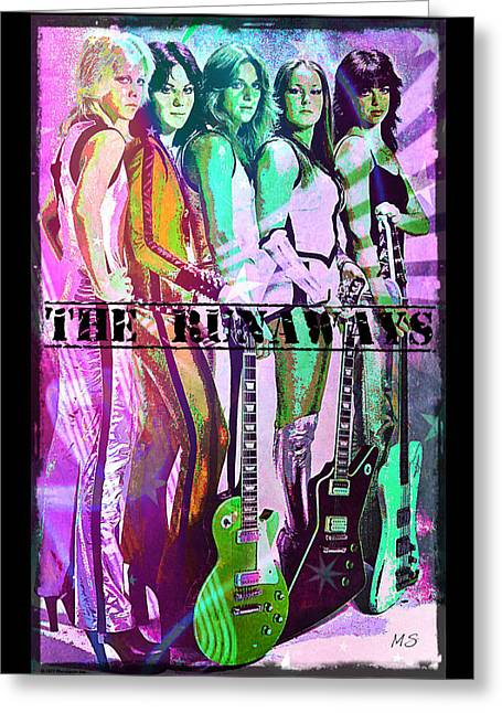 The Runaways Greeting Card