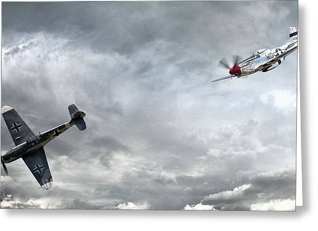 The Rush Greeting Card by Peter Chilelli