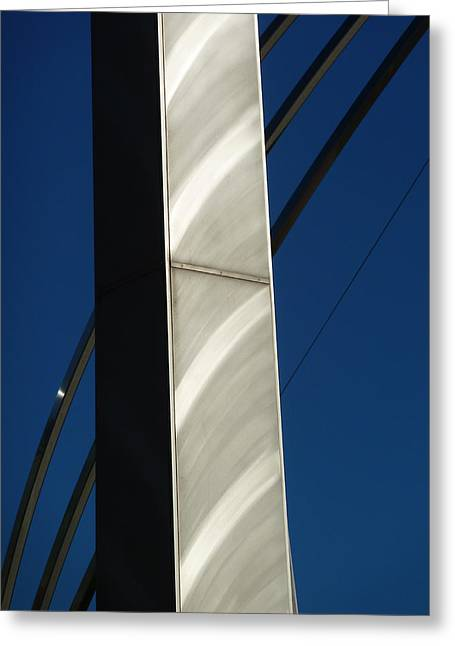 The Sail Sculpture  Greeting Card by Steve Taylor