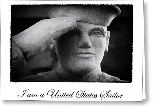 The Sailors Creed Greeting Card