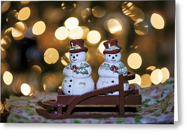 The Salt To My Pepper Greeting Card by Edward Kreis