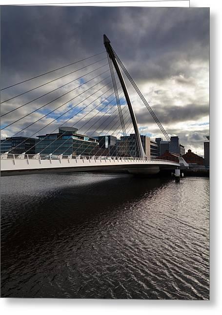 The Samual Beckett Bridge Greeting Card