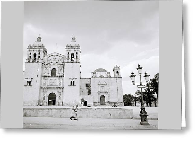 The Santo Domingo Greeting Card by Shaun Higson