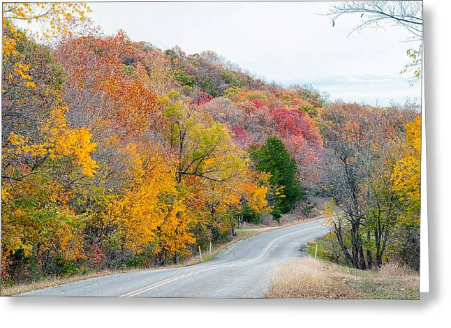 The Scenic Drive Greeting Card