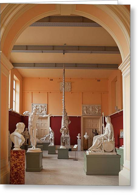 The Sculpture Gallery,interior Greeting Card