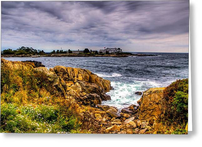 The Sea At Kennebunkport Greeting Card