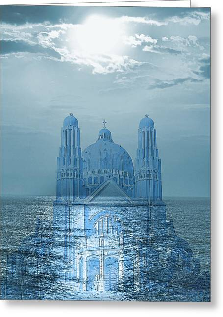 The Sea Church Greeting Card