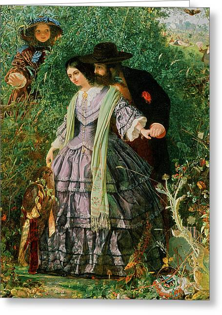 The Secret Greeting Card by William Henry Fisk