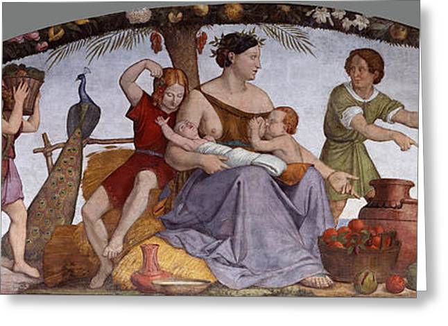 The Selling Of Joseph Greeting Card by Friedrich Overbeck