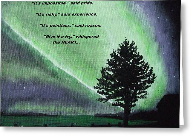 The Sentinel Of The Heart Greeting Card