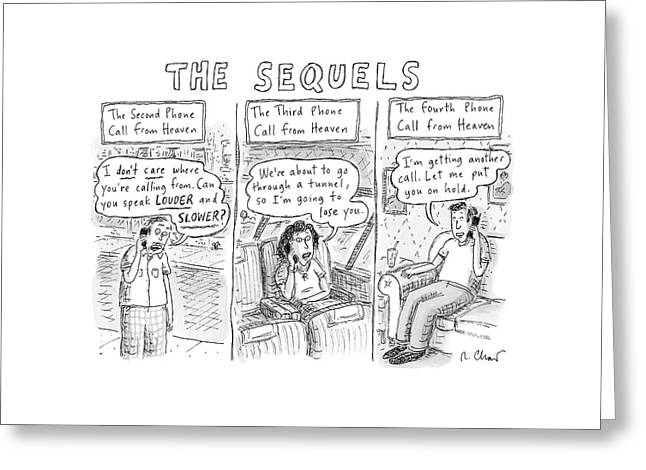 The Sequels 3 Panels Parodying A Book Called Greeting Card by Roz Chast