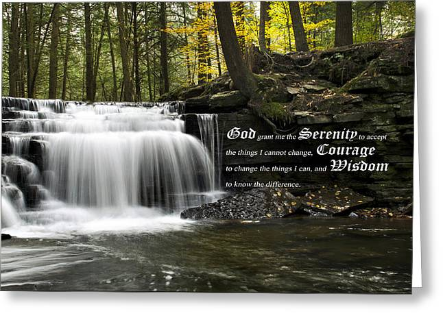 The Serenity Prayer Greeting Card