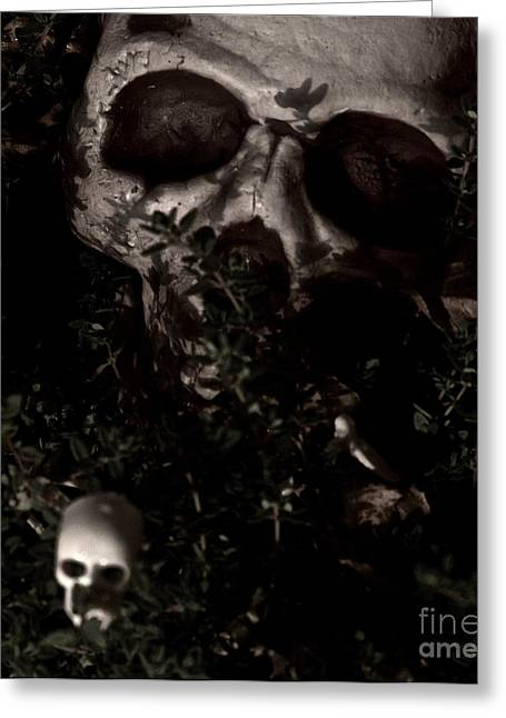 The Shadow Of Death Greeting Card by Xn Tyler