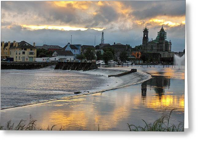 The Shannon River Greeting Card