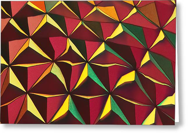 Shapes Of Color Greeting Card