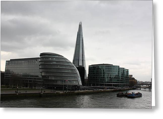 The Shard Greeting Card by Pat Purdy