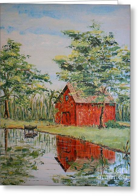 The Shed - Sold Greeting Card