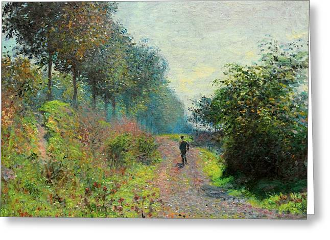 The Sheltered Path Greeting Card