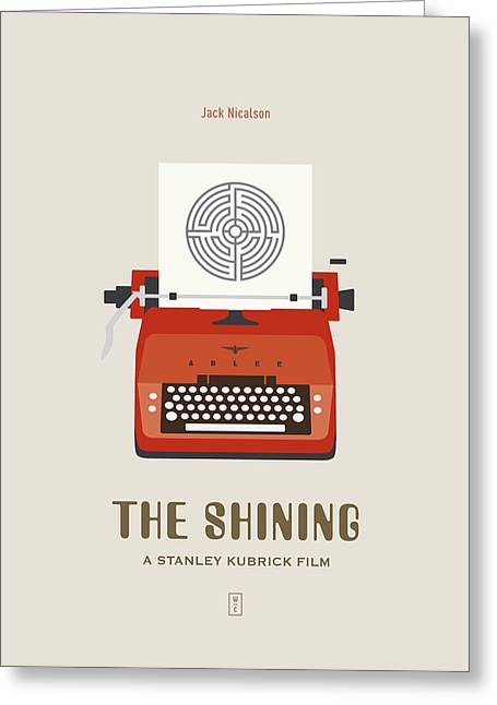 The Shining Greeting Card by Smile In The  Mind