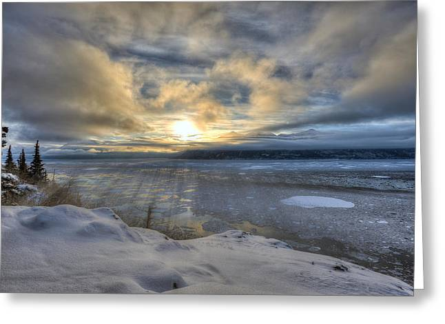The Shortest Day Greeting Card by Ted Raynor