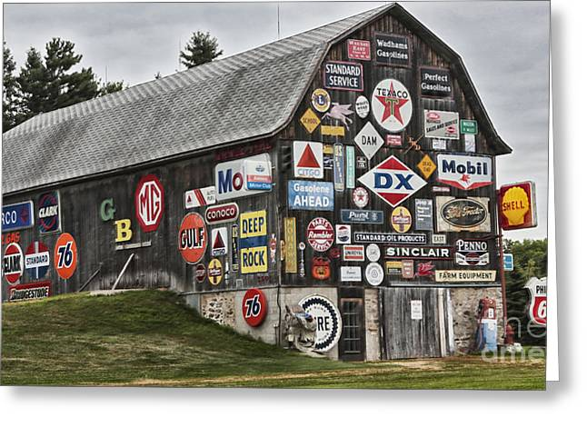 The Sign Barn Greeting Card