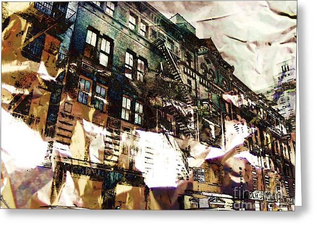 The Silver Factory / 231 East 47th Street Greeting Card