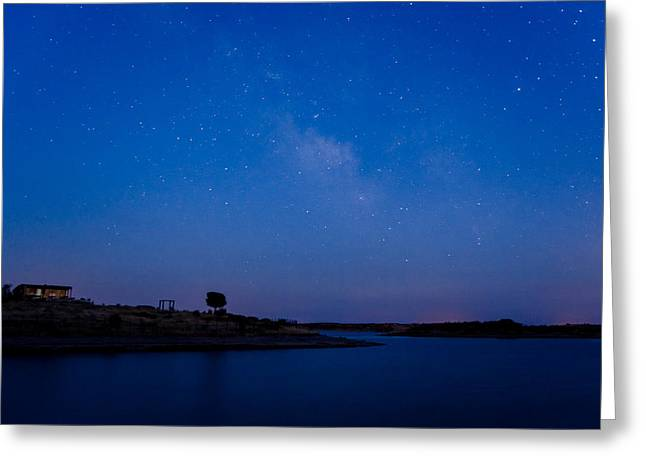 The Sky And The Lake Greeting Card by Alexandre Martins