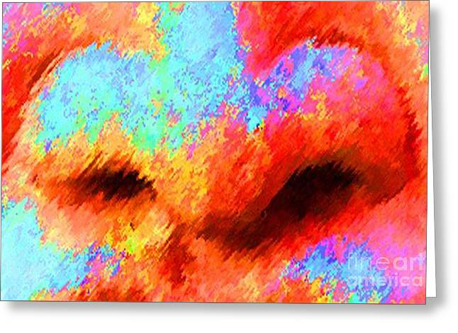 The Smell Of Color Greeting Card by Jost Houk