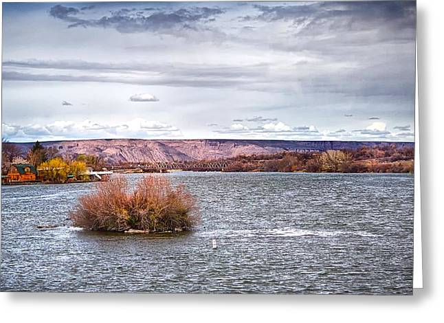 The Snake River Near Hagerman Idaho Greeting Card by Michael Rogers