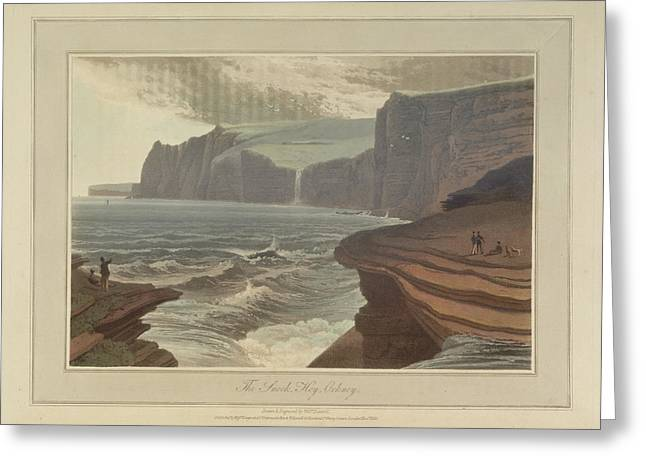 The Snook At Hoy On Orkney Greeting Card by British Library
