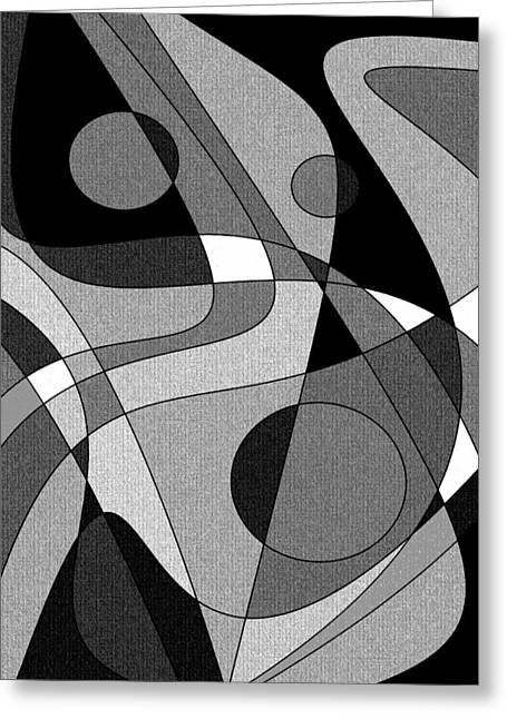 The Soloist - Black And White Greeting Card